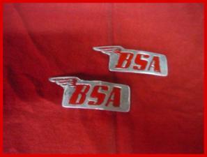 insignia BSA fundidas $60