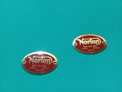 Emblema motor Norton dominator