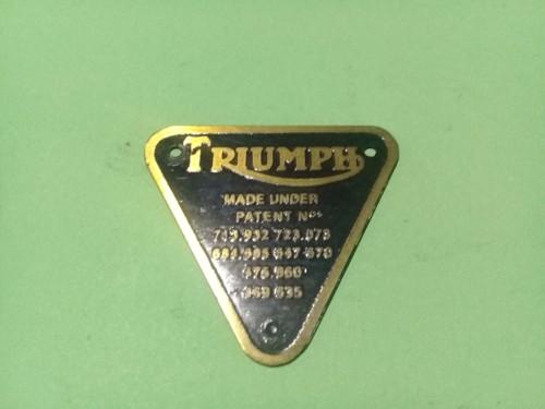 Emblema Motor Triumph